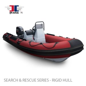 "470R-DR (15'5"") Dive / Rescue Series (Rigid Hull) Inflatable Boat w/ Suzuki 40hp -0"