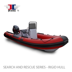 "INMAR 520R-DR (17'2"") Dive / Rescue Series (Rigid Hull) Inflatable Boat w/ Suzuki 70hp -0"